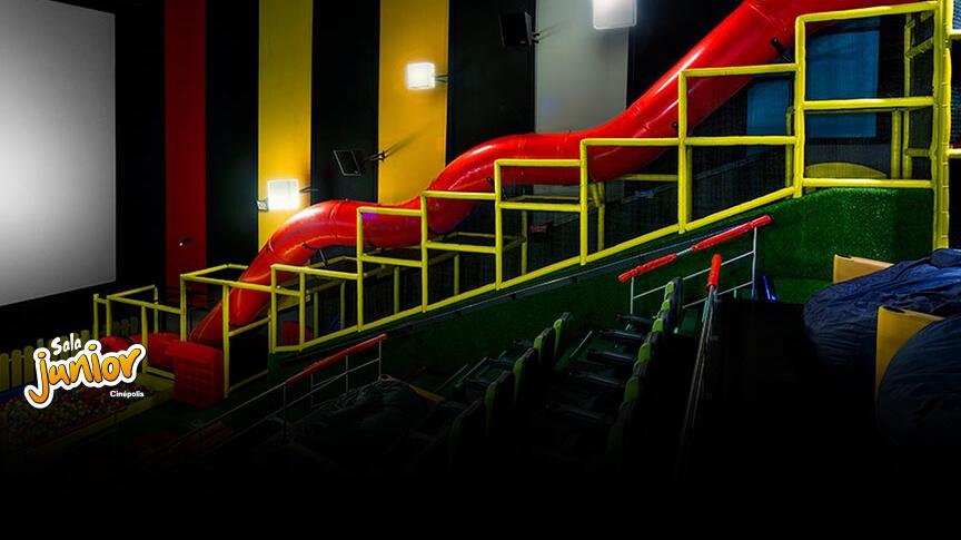 Kids Movie In The Theatre